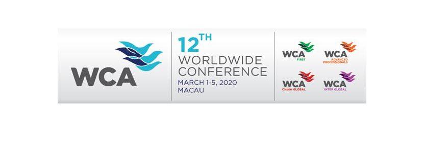 WCA Macau 2020 website