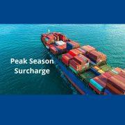Peak Season Surcharge